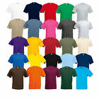 10x Fruit of the Loom T-Shirts Valueweight S - 5XL 15 Farben 10er Pack T-Shirt