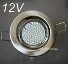 6 x 12V LED Decken-Einbaustrahler Downlight Set inkl.80LEDs MR16 Lampe + Trafo