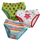 "NEW Vaenait Baby Girl 3 pack of Underwear Briefs Pantie Set "" Lalla Owl Set """