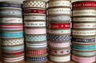 NEW LARGEST SELECTION EAST OF INDIA RIBBON 3 METRES ON A ROLL / REEL