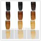 One *20inch Remy Human Hair Clip In Extensions 10pcs & 160g, 11 colors available