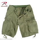 Olive Drab Vintage Infantry Utility Shorts , Army Military Shorts - Rothco 2544
