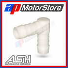 PLASTIC BARBED ELBOW HOSE CONNECTOR PIPE POND JOINER REPAIR BEND FITTING