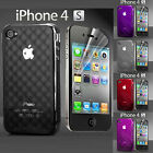 Apple iPhone 4 and 4S Vetor Protection Case Cover + 2 Screen Protectors.