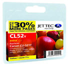 Compatible Jettec CLI-521Y Yellow Ink Cartridge for Canon Pixma Printers
