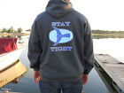 Men's Hoodie Sweatshirt Heather Grey Bluefin Tuna Hooded Men's Sweatshirt Fish