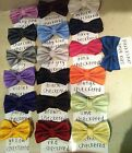 NEW MENS DOUBLE LAYER HIGH QUALITY BOWTIE BOW TIE CHECKED SUIT TUXEDO TIES