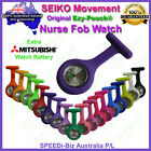 SEIKO Ezy-Pouch® Quality Silicon Nurse Fob Watch 2 Battery for Pouch Bag Uniform