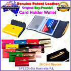 HQ Ezy-Pouch® Genuine Patent Leather Business Credit ID Card Holder Purse Wallet