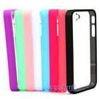 Back Clear hard coating Cover Case Protective Bumper For iPhone 4g 4s 4gs new MY