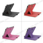 """Polka Dot Leather Case Stand Cover For 10"""" 10.1 inch Tab Android Tablet PC Epad"""