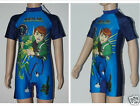 New Ben 10 All in one swimming suit / Costume / swimmingwear for boy 3-7Yrs
