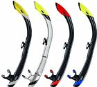 ATOMIC AQUATICS SV2 Dry Snorkel for Diving, Scuba, Snorkelling WORLDS BEST