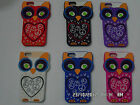 New Soft Silicone Rubber Case Skin Cover Owl Design Fits For Apple iphone 5 5G