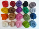 Felting Wool - All 20 Different Colours - Merino Wool Tops / Roving 21 Micron