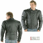 RAYVEN STRATUS Cowhide Leather JACKET CE Armour Motorcycle Motorbike Jacket