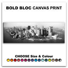NYC Manhattan Island CITY  Canvas Art Print Box Framed Picture Wall Hanging BBD