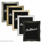 2 Inch Swept Framed Chalkboards in Various Colours & Sizes Free P&P 2INCH CHALK