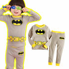 "NWT Vaenait Baby Toddler Kid's Boy In-Door Sleepwear Pajama Set "" I am Batman """