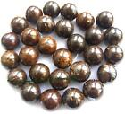 "natural Bronzite stone Round Gemstone Beads 15"" 4mm 6mm 8mm 10mm 12mm 14mm"