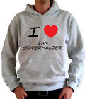 I LOVE IAN SOMERHALDER T-Shirt, Hoodie, Jumper Hoody The Vampire Diaries