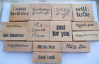 DOVECFAFT WOODEN STAMPS