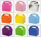 Childrens Kids Colour Birthday Wedding Party Meal Lunch Food Gift Loot Bag Box