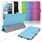 """Leather Case Cover Stand For 7"""" CAPACITIVE MULTI TOUCH ANDROID 4.0 Tablet PC New"""