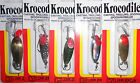 LUHR JENSEN KROCODILE TROLLING FISHING LURE SPOON CHOICE OF COLOR AND SIZE