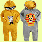 "NWT Vaenait Baby Newborn Infant Girl Boy's Hoodie One-Piece Outwear ""Leo&Teddy"""