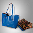 NEW Women Genuine Leather Tote Shoulder bag Handbag Shopper Shopping Cabas