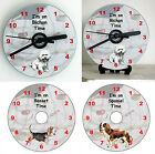 I'm on 'Doggy' Time - CD Clock – Breeds from A (Akita) to J (Jack Russell)