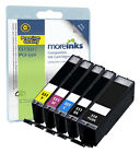 5 Compatible Canon CLI-551 / PGI-550 Ink Cartridges for Pixma Printers