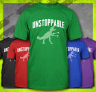 UNSTOPPABLE T REX T-REX TOY CLAW HAND FUNNY MEME DINOSAUR GRABBER T-SHIRT TEE