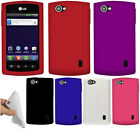 For LG Optimus M+ MS695 Color SILICONE Soft Gel Skin Rubber Case Cover Accessory
