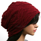 best designer Baggy slouchy BEANIE men women top chic Hat ski winter Cap new wv9