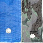 Sizes From 4 x 6 To 12 x 18 Tarpaulin Blue Combat Camouflage Ground Sheet Cover