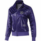 NEW Adidas Originals Chile 62 Womens Tracksuit Top hoodie jacket shiny cal surf