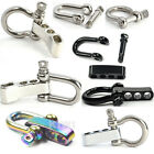 10 Pcs Stainless Steel Adjustable Shackles Buckles, Great for Paracord Bracelets