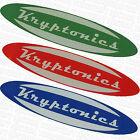 KRYPTONICS WHEELS -  Skateboard Skate Stickers - Assorted Colours