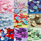 MIXED BUTTONS 50g or 100g - lots of pretty colours, FREE 1ST CLASS P&P
