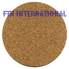 "6 1/2"" Round Peel & Stick Cork Blanks U-Decorate or backings Trivets Coasters image"