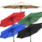NEW 9'ft Outdoor Patio Umbrella Aluminum Market Garden Yard Beach w/ Crank Tilt