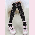 Lolita Black / White / Pink Hosiery Thigh High Socks Stockings