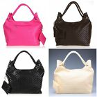 Korean Style Lady Girls PU Leather Shoulder Bag Handbag Messenger Tote bags