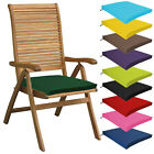 Multipacks Outdoor Waterproof Chair Pads Cushions Only Garden Patio Furniture