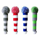 Egigo Knitted Pom Pom Golf Headcovers individual headcover or a set of 3 or 4