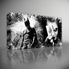BATMAN VS THE JOKER - PREMIUM GICLEE CANVAS ART Choose your size