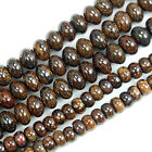 "Natural Bronzite Rondelle Beads 16"" 4x6mm 5x8mm Pick"