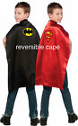 Batman Superman Reversible Cape Child Batman Cape Superman Cape Dress Up 4870